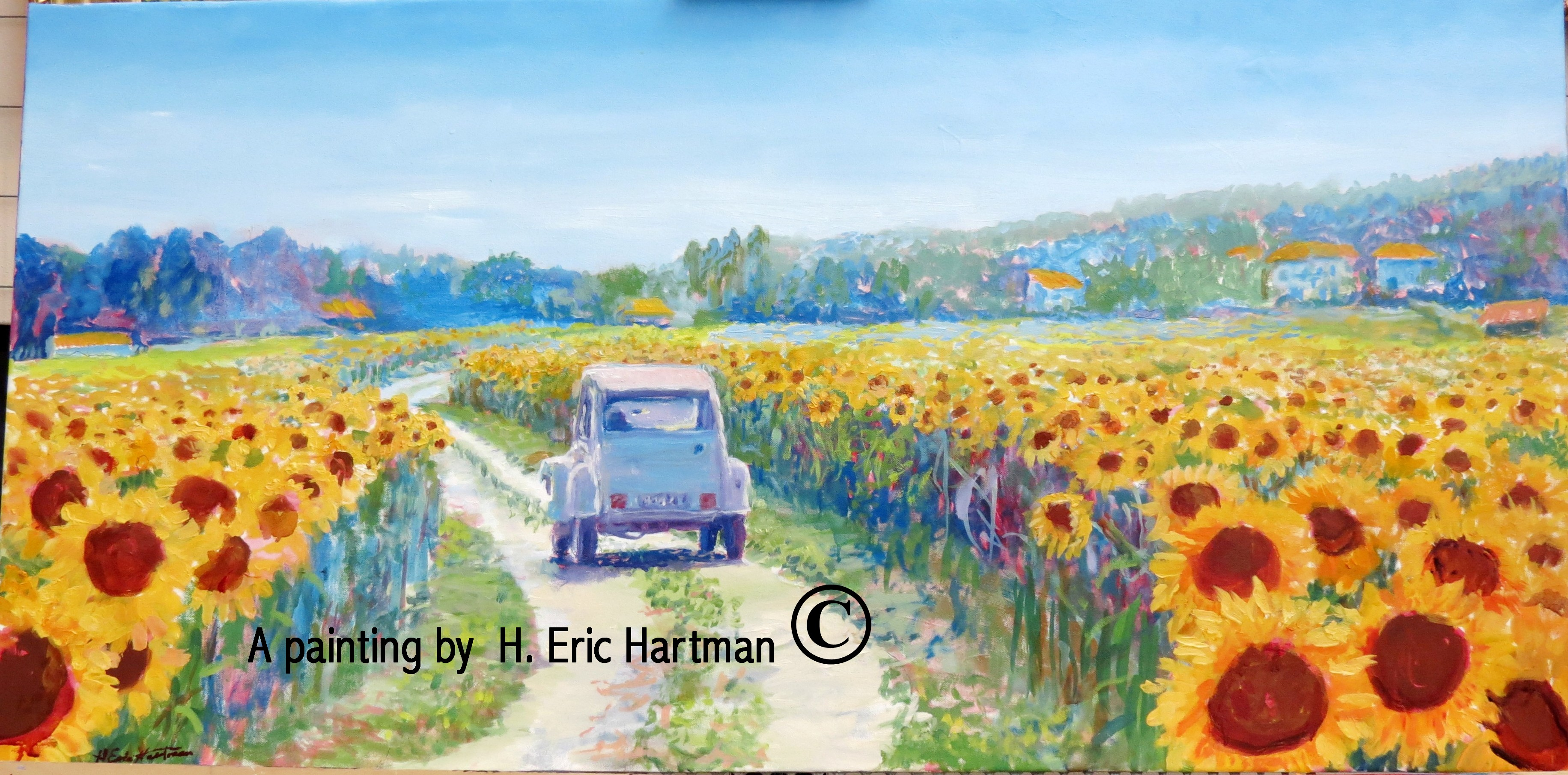 Painting Gallery New Paintings H Eric Hartman